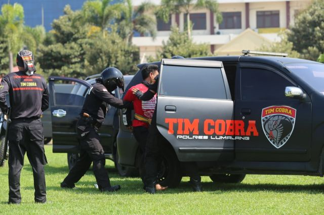Tim Cobra Lumajang Raih Juara III Olah TKP Polda Jatim