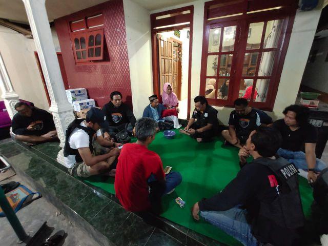 Tim Cobra Takziah ke Rumah Korban Aksi Begal Lumajang asal Jember