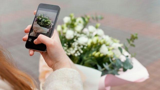6 Tips Foto Bunga dengan HP