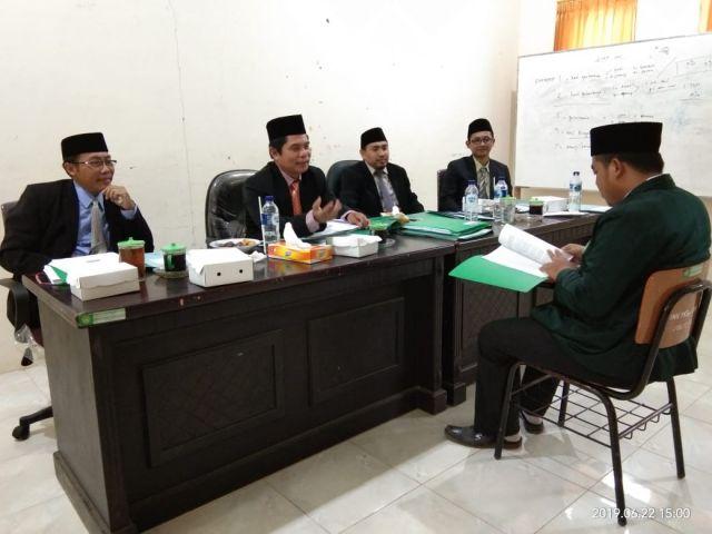 IAI Syarifuddin Uji Skripsi Mahasiswa Pakai Sitem Silang Demi Kualitas