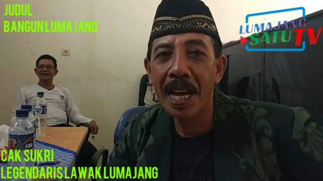 Video Cak Sukri Pelawak Legendaris Lumajang