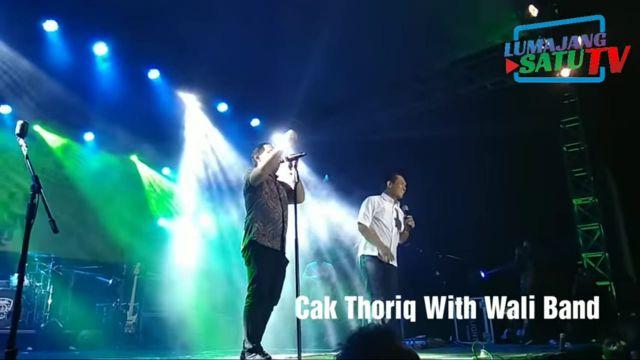 Video Suara Merdu Cak Thoriq  Dipuja Wali Band Disukai Netizen