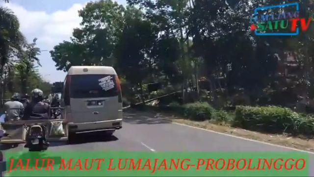 Video Jalur Macet dan Laka Lumajang - Probolinggo