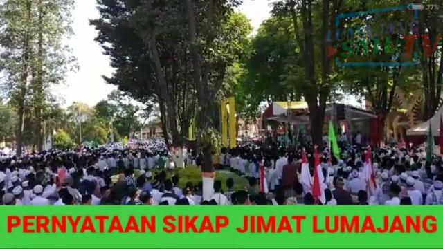 Video Pernyataan Jimat Atas Tempat Maksiat di Lumajang