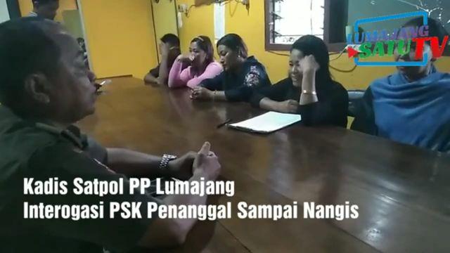 Video :  PSK ini Menangis Saat Dimarahi Kadispol PP Lumajang