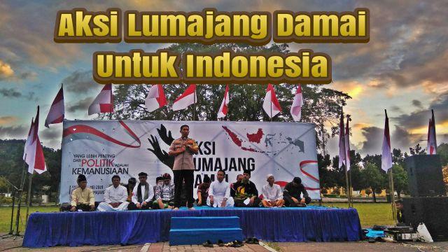 Video : Aksi Lumajang Damai Untuk Indonesia