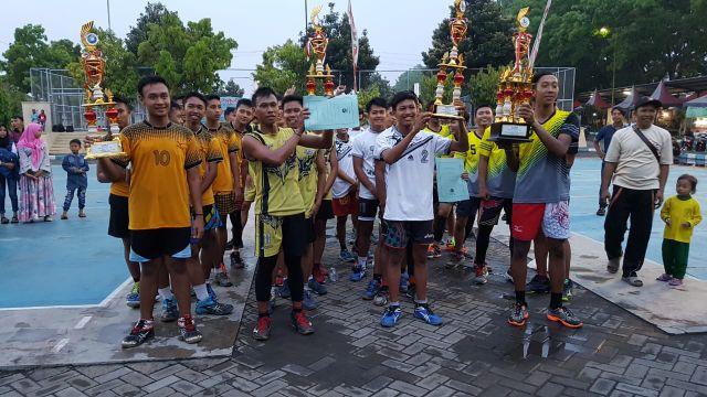 Randuagung Juara Voli Putra Piala KONI 2018