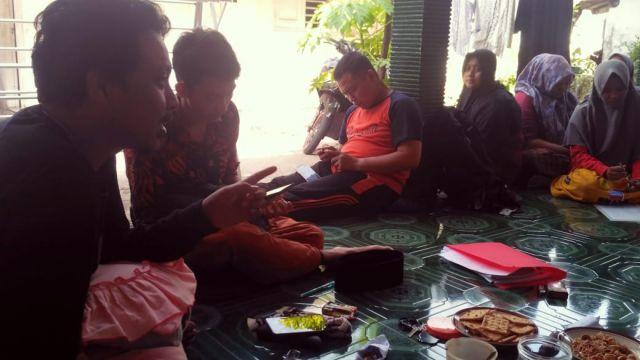 Warek II IAI Syarifuddin Pantau Mahasiswa KKN Untuk Riset PAR