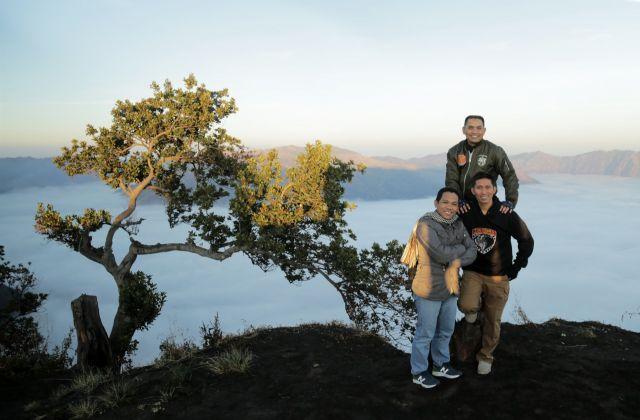 Cak Thoriq Ajak Kapolres dan Dandim Lumajang Nikmati Panorama B29 Lumajang