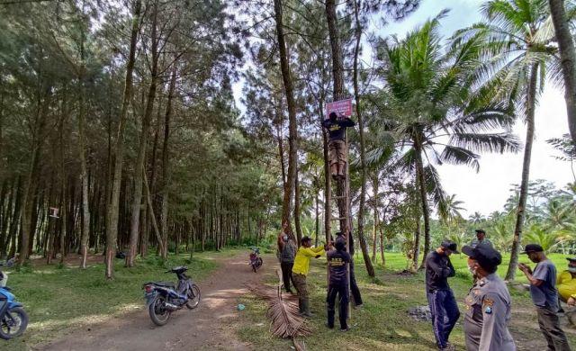 Polisi Tutup Kapas Ijo Candipuro Lumajang Akibat Video Viral Tawuran