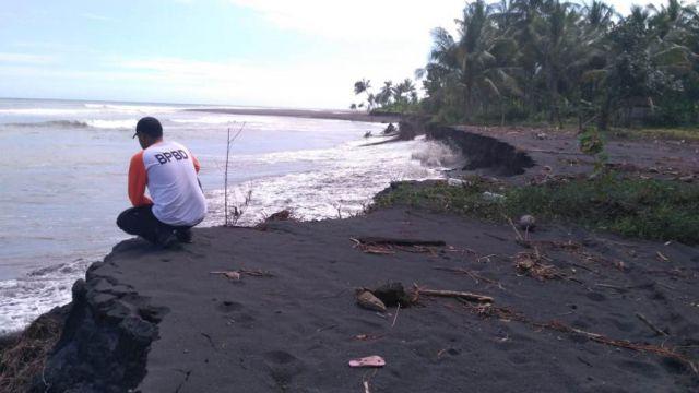 Ratusan Hektar Lahan Pertanian Terdampak Abrasi Pantai TPI Tempursari