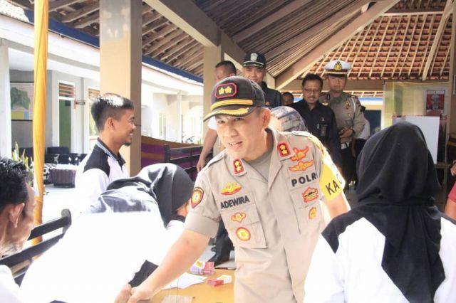 Kilat, Kuat, Tegas, Motto dari AKBP Adewira Negara Siregar di Lumajang