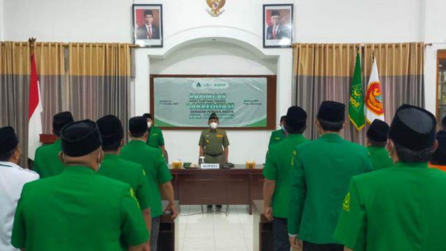 PW Jatim Akreditasi 21 PAC dan Sosialisasi Kofercab Ansor Lumajang