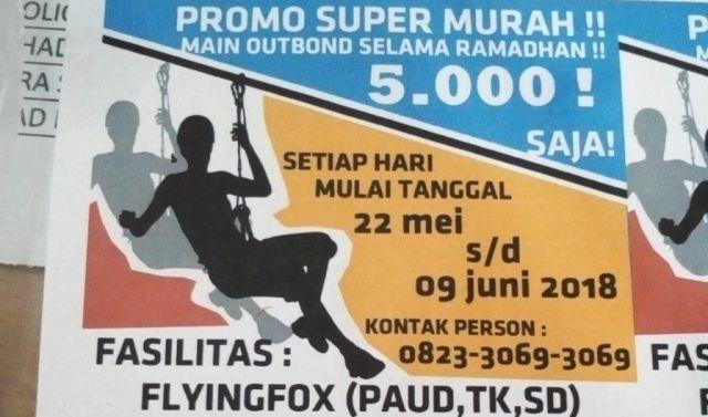 Ramadhan, Wisata Edukasi Alas Semeru Promo Super Murah