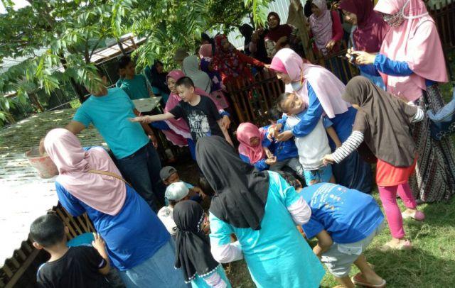 Anak Berkebutuhan Khusus Outbound di Wisata Edukasi Alas Semeru
