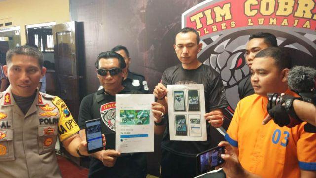 Undercover Buy Tim Cobra Ungkap Jual Beli Sepeda Bodong di Facebook