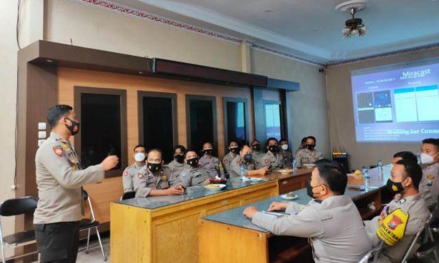 Polisi Lumajang Dilatih Pakai Aplikasi Lacak Warga Terpapar Covid 19