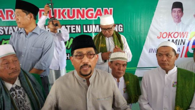 Aliansi Masyayikh Lumajang Deklarasi Dukung Jokowi-Ma'ruf