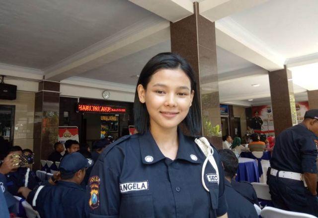 Angela Satpam Cantik Jago Bela Diri Asal Jatiroto Lumajang