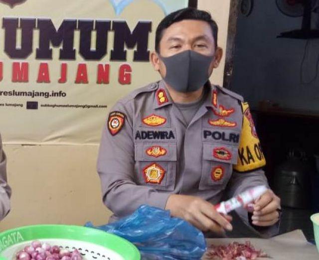 Anyang Riau Menu Buka Puasa Favorit Kapolres Lumajang AKBP Adewira
