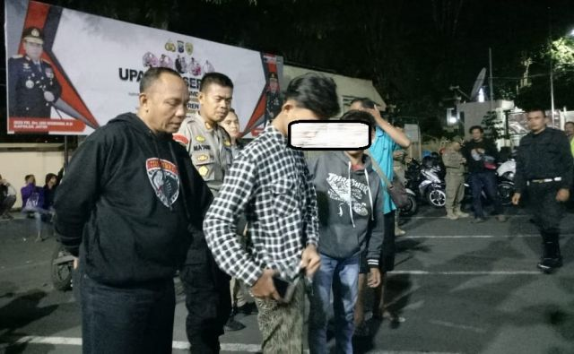 Arek Sentul Diamankan saat Mabuk Mlebu Pekarangane Wong Kuto Lumajang