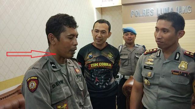 Arifin Sang Polisi Gadungan Lumajang Suka Curi Celana Dalam Wanita
