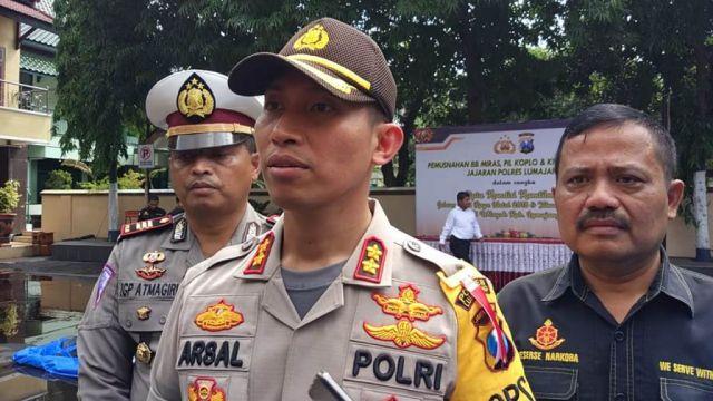 Polres Lumajang Gelar Pasukan Pengamanan Natal dan Tahun Baru 2019