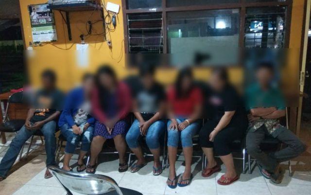 Razia Asem Telu Satpol PP Lumajang Amankan 5 PSK dan Lelaki Hidung Belang