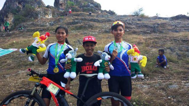 2 Atlet MTB XC Putri Lumajang Berjaya di Porprov Jatim 2019
