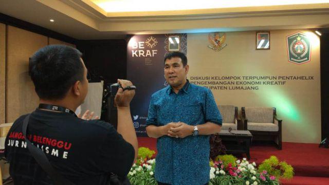 Drs. Ayub Khan Anggota DPR RI Dorong Badan Ekraf Jadi Kementrian