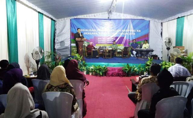 Drs. Ayub Khan M.Si, KB Sangat Penting Untuk Ciptakan Keluarga Bahagia dan Sejahtera