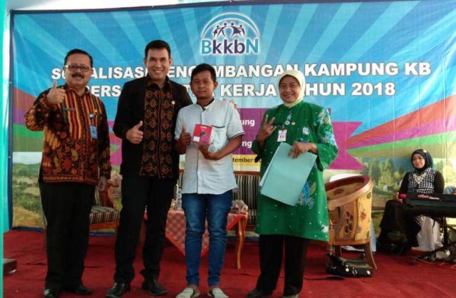Sosialisasi Kampung KB, Drs. Ayub Khan Anggota DPR RI Ingatkan Bahaya Stunting