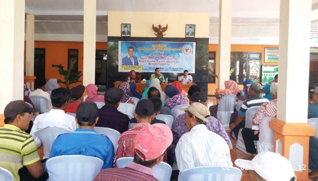 Drs. Ayub Khan MPR RI Rapat Dengar Pendapat dengan Warga Rojopolo