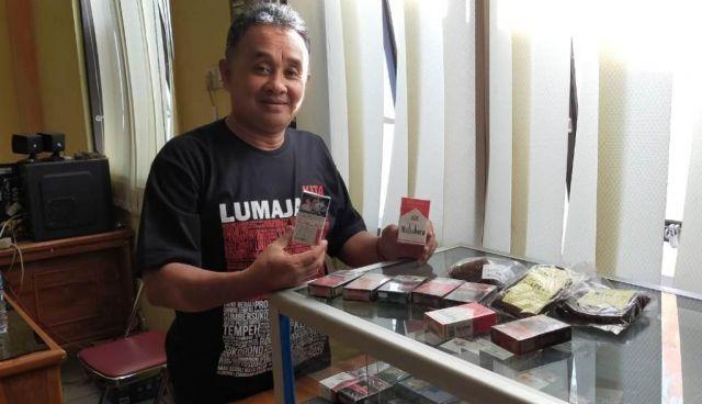Disperindag Lumajang Temukan Puluhan Merk Rokok Ilegal Tanpa Cukai