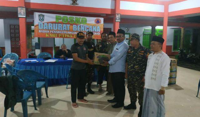 Bagana Ansor Lumajang Aktif Bantu Korban Banjir Rowokangkung