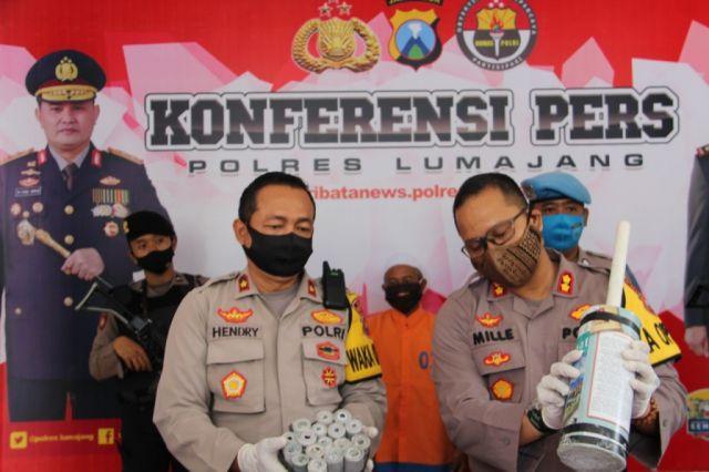 2 Warga Tukum dan Bodang Lumajang DPO Kasus Pembelian Bahan Peledak