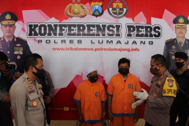 Tim Kuro Polres Lumajang Tangkap Sutar Pembeli Serbuk Bondet