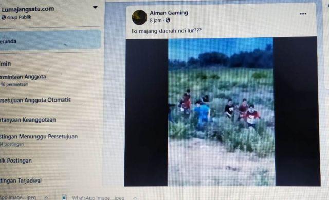 Video Viral Balap Liar Ternyata Masuk Jember Bukan JLS Lumajang