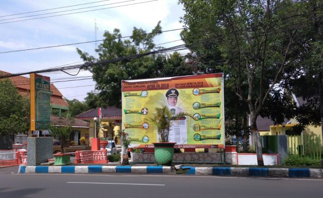 Ciptakan Pemerintah Bersih, Pemkab Pasang Baleho APBD di Setiap Kecamatan