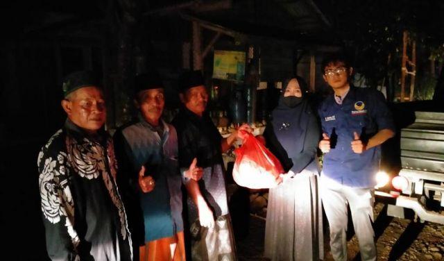NasDem Lumajang Ikut Bantu Korban Banjir Sungai Bondoyudo