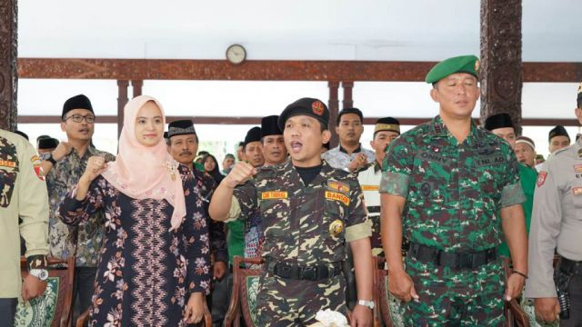 Cak Thoriq Bupati Lumajang Dilantik Pimpin Kasatkorcab Banser