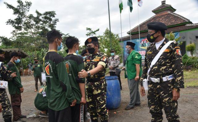 Cak Thoriq Baiat Puluhan Anggota Banser Tempeh Lumajang