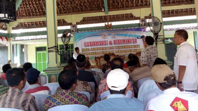 Petani Lumajang Dikenalkan Pada Teknologi Nuklir Untuk Pertanian