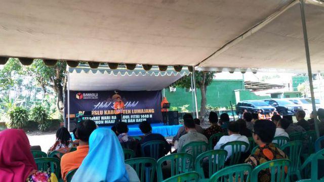Halal Bi Halal Bawaslu Ajak Bersama Bangun Lumajang dan Jaga NKRI