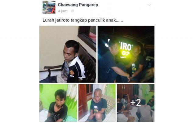 Polisi Amankan Pemilik Akun FB Chaesang Pangarep, Penyebar Foto Hoax Penculikan Anak
