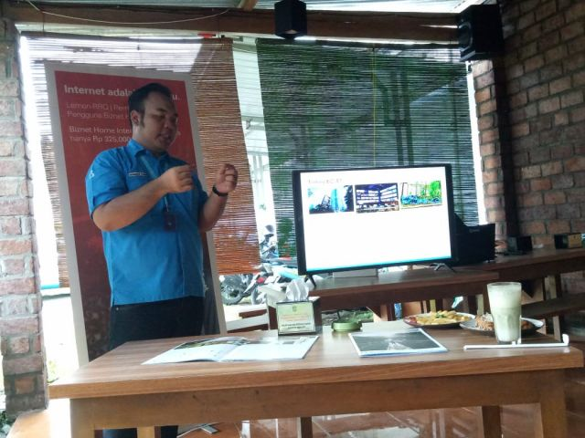Biznet Lumajang Gelar Media Gathering