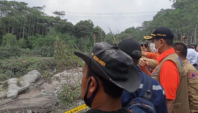 BNPB Akan Bangun Jalur Evakuasi dan Renovasi Aliran Lahar Semeru
