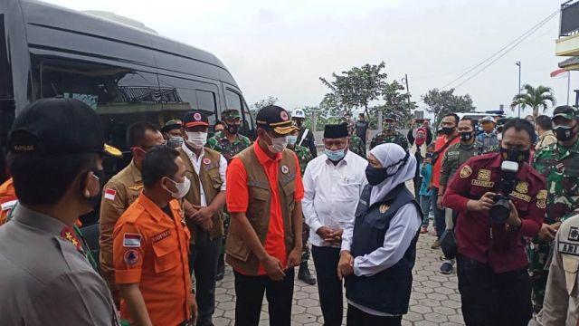 Kepala BNPB dan Gubernur Jatim Lihat Kesiapan Lumajang Hadapi Bencana