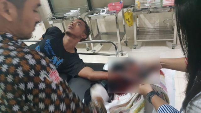 2 Pemuda Bondoyudo dan Klanting Dibacok Tangan Nyaris Putus