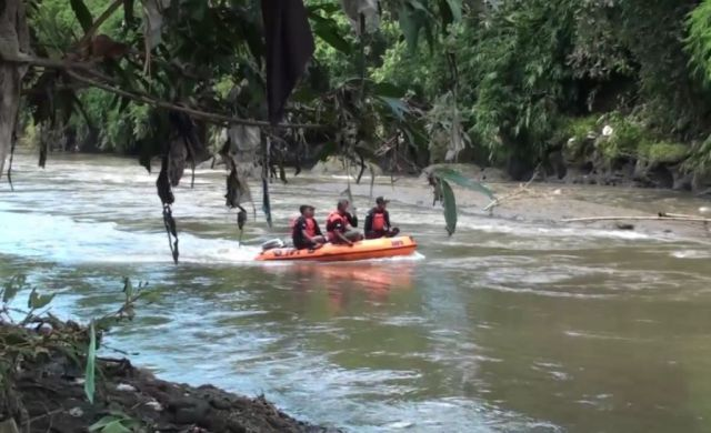 BPBD Cari Mayat Perempuan Yang Sempat Terlihat Mengapung di Sungai Bondoyudo